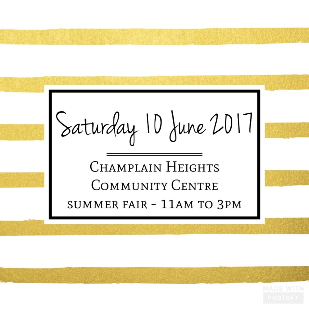 A Bit Of Glue & Paper - Champlain Heights Community Centre summer fair 10 June 2017